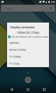 SecondScreen - náhled