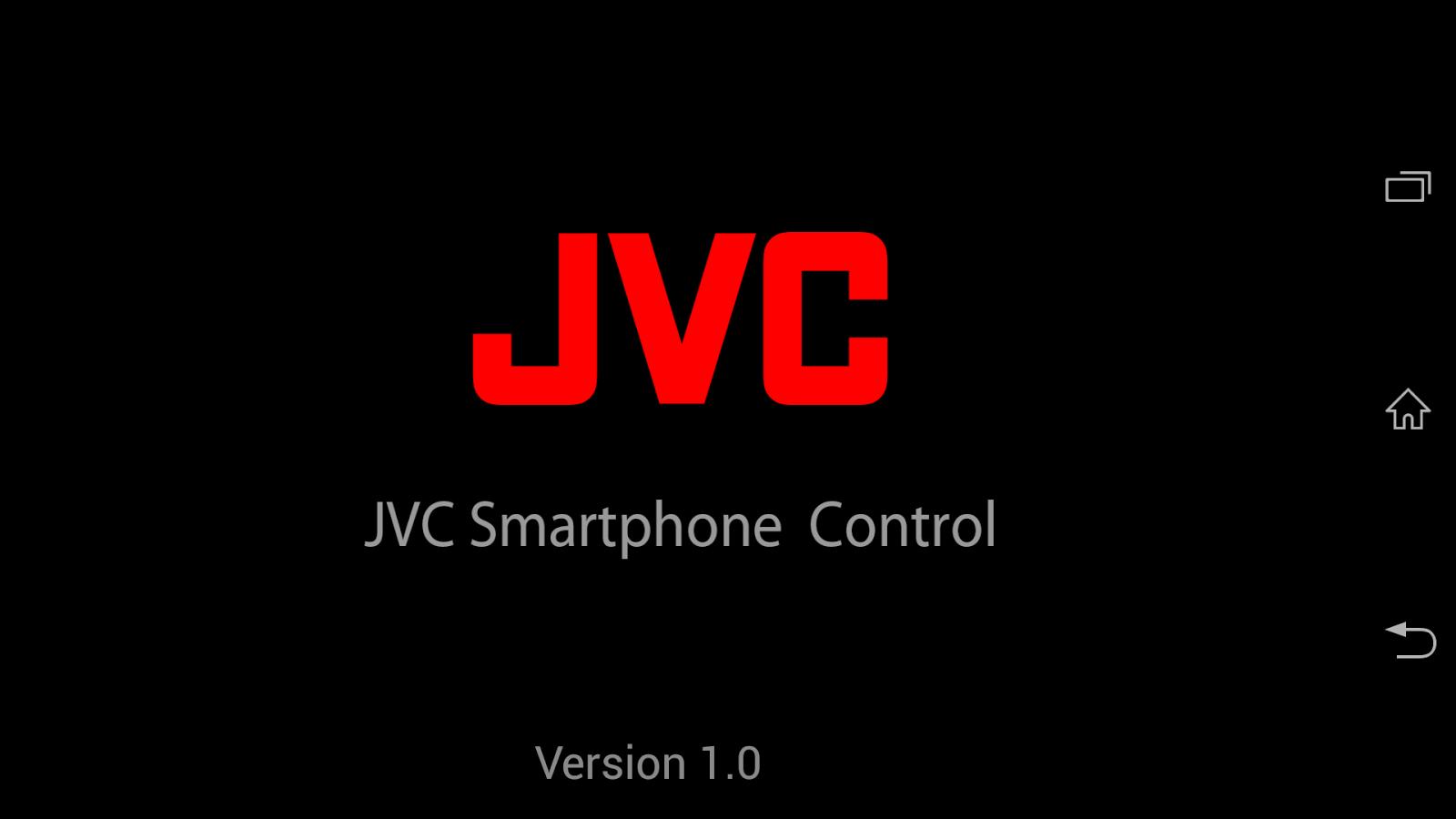 JVC Smartphone Control- screenshot
