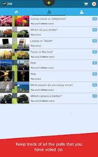 Polller Polls : Instant Voice- screenshot thumbnail