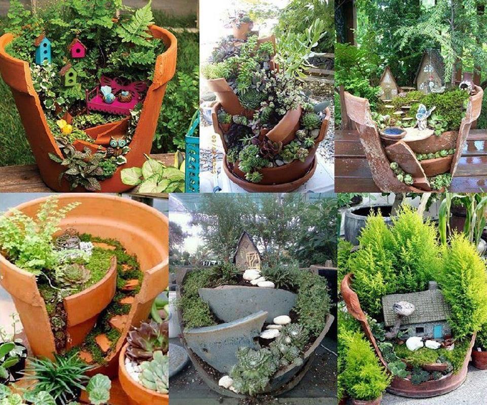 Famoso 12 idee fai da te per il giardino | Fai da Te Creativo AF45