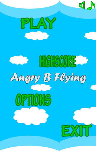 Angry B Flying Game Free