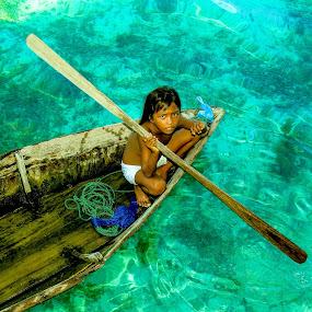 palauk's boat by Zahir Mohd - Babies & Children Children Candids