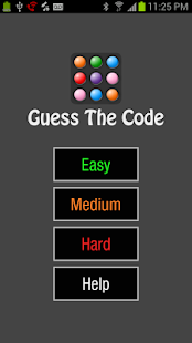 Guess The Code