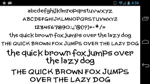 Fonts for FlipFont 50 Written  screenshots 6