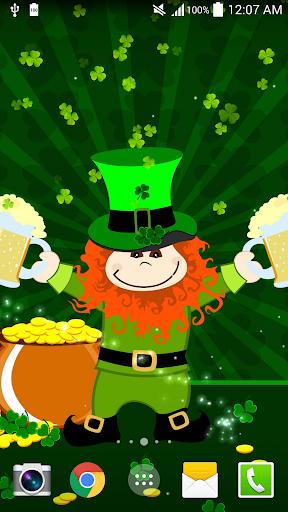 St.Patricks 데이 라이브 배경 화면