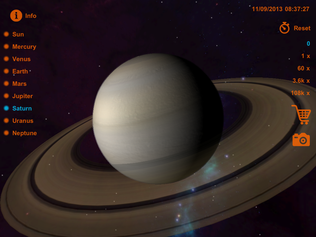 solar system of 3 d-#47
