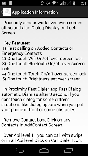 【免費工具App】Proximity Fast Dialer-APP點子