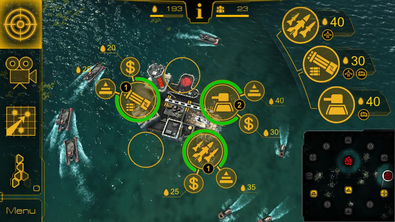 Oil Rush: 3D naval strategy - screenshot