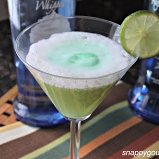 Key Lime Pie Fizztini