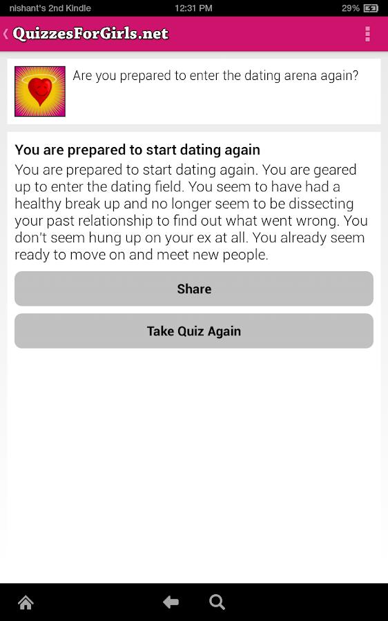 Quizzes For Girls - screenshot