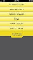 Screenshot of GELBE LISTE PHARMINDEX