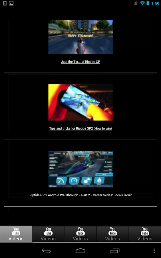 Riptide GP Guide - screenshot