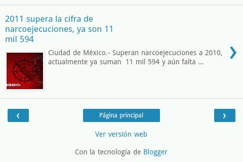 Narco Blog - screenshot