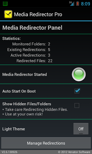 URSafe Media Redirector PRO