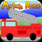 Fire Truck Kids Match Race