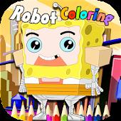 Sponge Robot Coloring