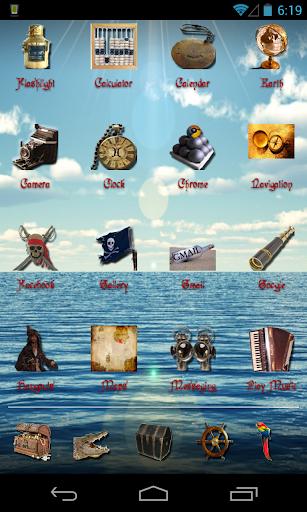 Pirate Theme for ADW Apex Nova