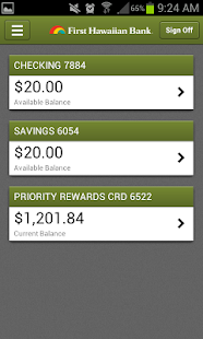 FHB Mobile Banking - screenshot thumbnail