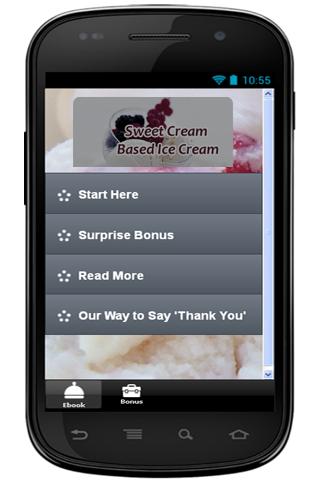 Cream Based Ice Cream Recipe