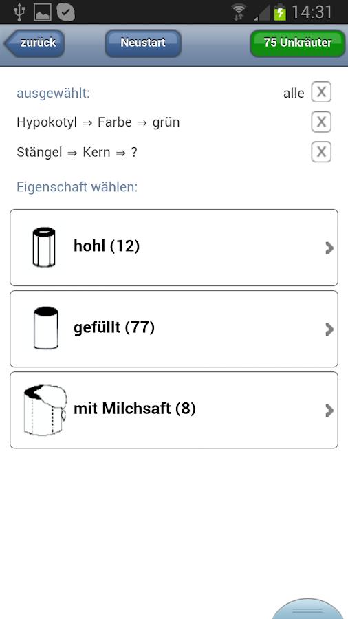 liz unkraut bestimmung android apps on google play. Black Bedroom Furniture Sets. Home Design Ideas