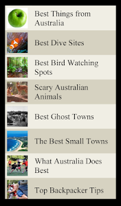 World Travel Lists - AUSTRALIA screenshot 7