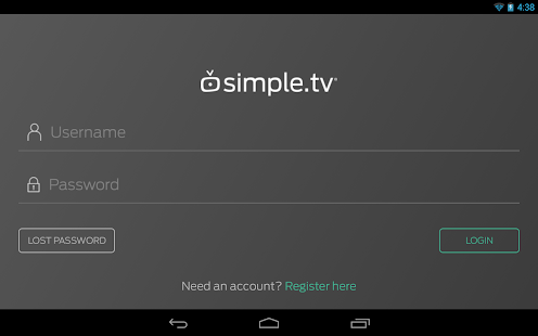 Simple.TV- screenshot thumbnail