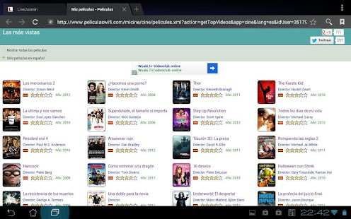 Peliculas Wifi Web: Movies - screenshot thumbnail