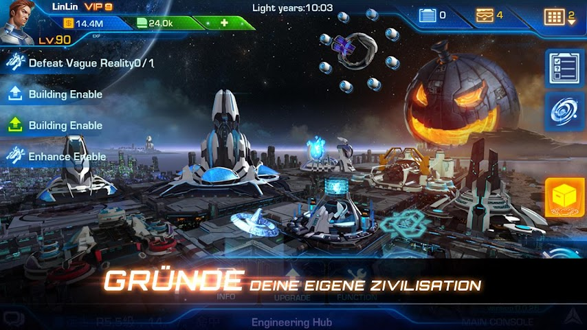 android Galaxy Legend Screenshot 2
