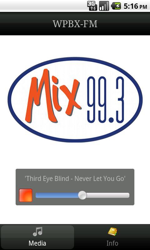 Mix 99.3 - screenshot