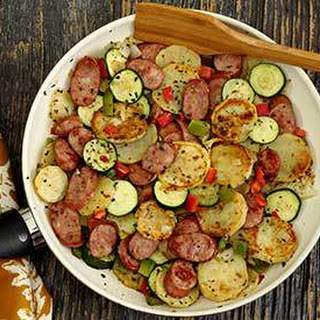 Italian Sausage & Potato Quick Skillet
