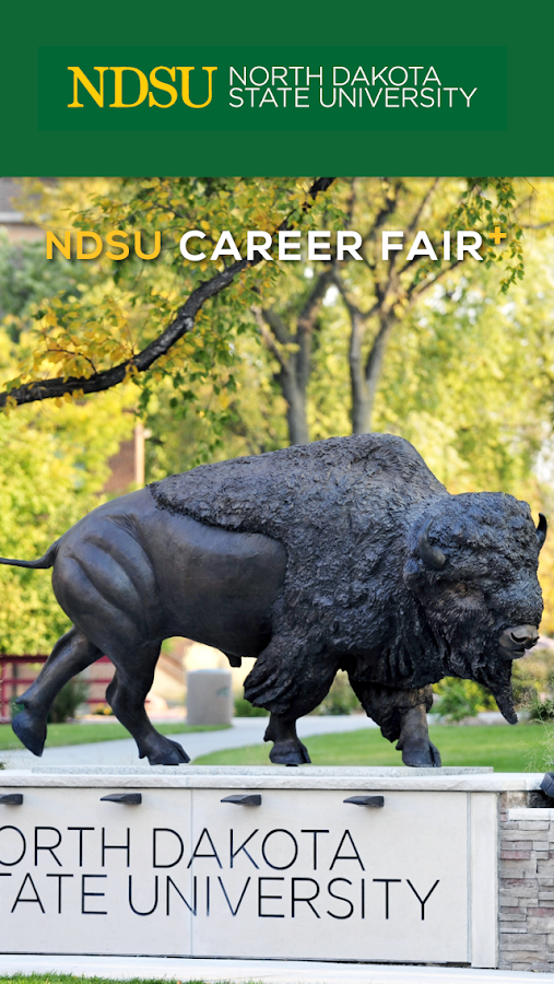 NDSU Career Fair Plus- screenshot