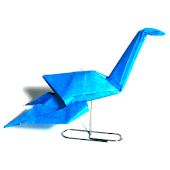 Origami Dinosaur 5