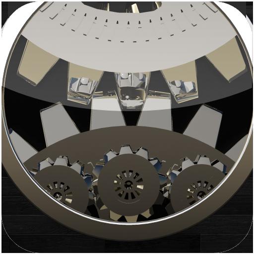 個人化App|時計じかけの LWP HD 黒檀 LOGO-3C達人阿輝的APP