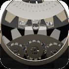 Clockwork LWP HD Ebony icon