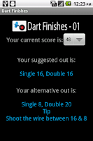 Screenshot of Dart Finishes