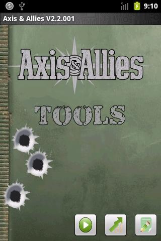 Axis and Allies Tools- screenshot