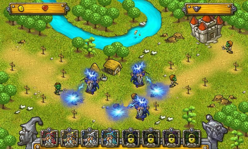 Wizards & Goblins- screenshot