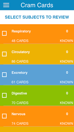 PCAT Biology Flashcards
