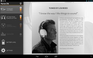 Screenshot of Parrot Audio Suite