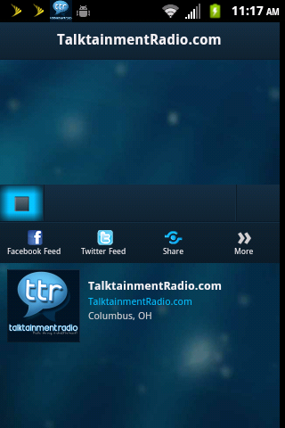 Talktainmentradio.com - screenshot