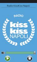 Screenshot of Radio Kiss Kiss Napoli