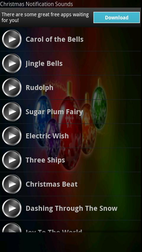 Christmas Notification Sounds- screenshot