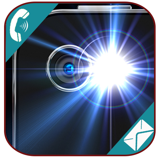Flash On Call SMS LOGO-APP點子