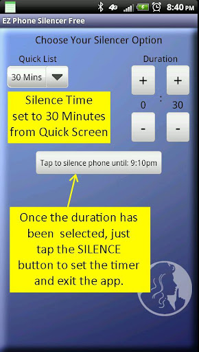 EZ Phone Silencer Free  screenshots 4