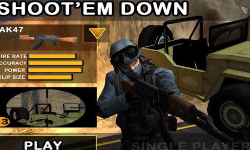 Shoot `em Down: Ace of Spades