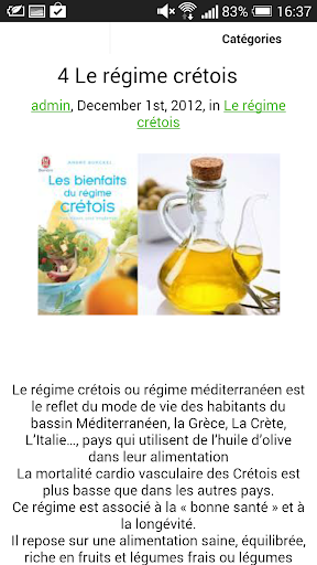 【免費健康App】Régimes pour maigrir vite-APP點子