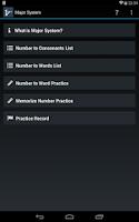 Screenshot of Mnemonic Major System
