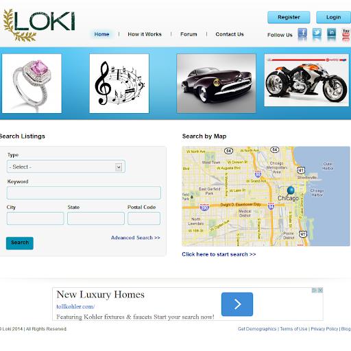 【免費商業App】LOKI BITCOIN MARKETPLACE-APP點子