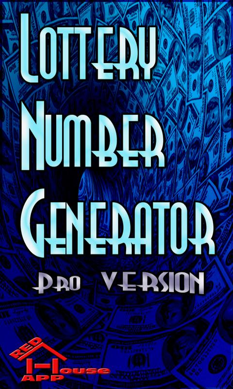 Lottery Numbers Generator Pro - screenshot