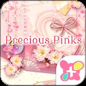 ★FREE THEMES★Precious Pinks